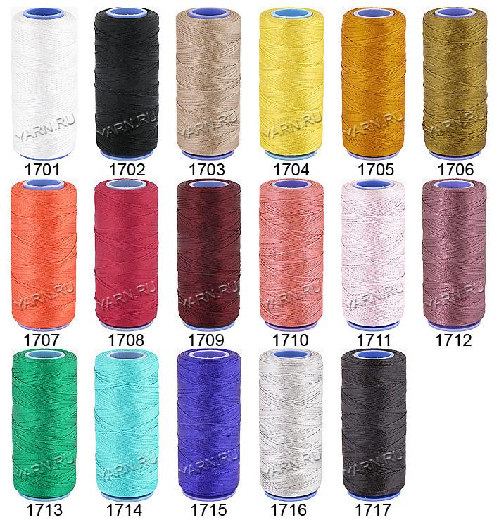 Вязание из пряжи силка