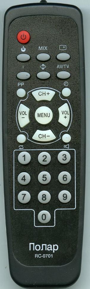 RC0701 пульт для телевизора. в наличии.  F. 54CTV4435.  Бренд - Lentel.  Order неоригинал.