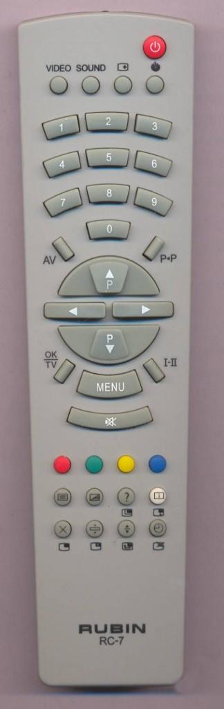 РУБИН RC-7 TV, Рубин RC-7 TV,опт, оптовые поставки, скидки оптовикам 475x1504.