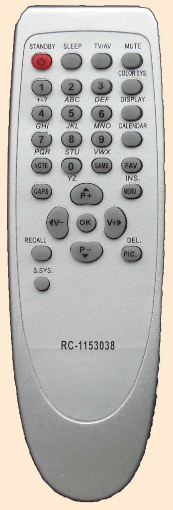 Пульт дистанционного управления AKAI RC-1153012.
