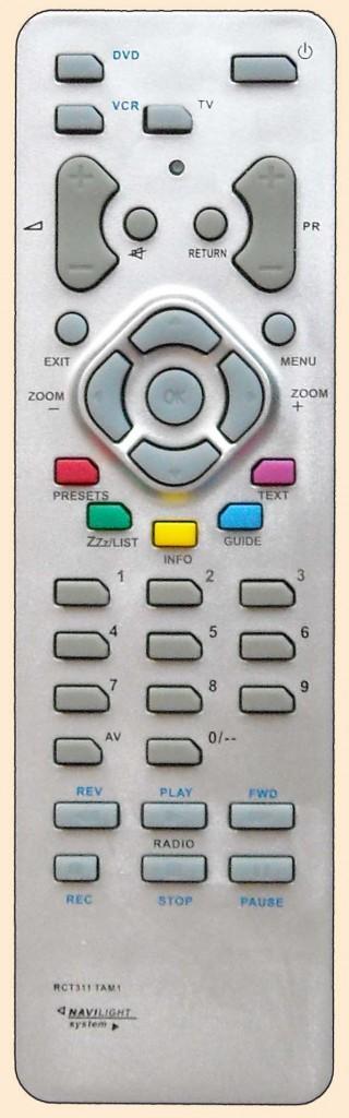 Данный пульт подходит к следующей аппаратуре: телевизор Thomson 14CT180 телевизор Thomson 15LCDM03B телевизор Thomson...