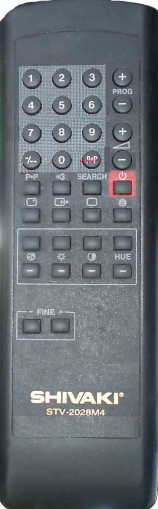 Совместим с. SHIVAKI телевизор STV-2028M4. полностью выполняющий функции Вашего пульта.  Мы предлагаем аналог в...