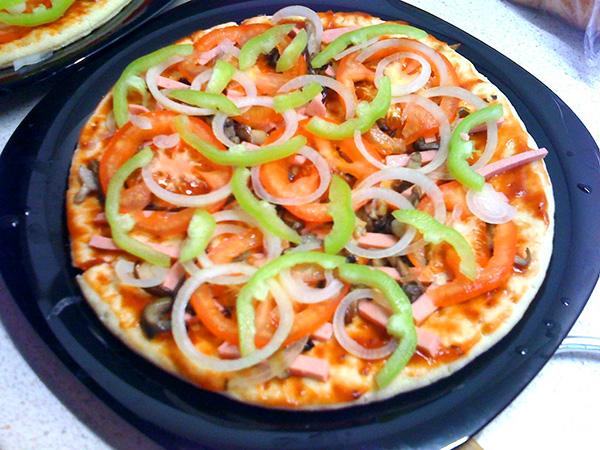 Как сделать пиццу в микроволновке в домашних условиях